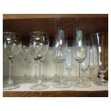 14 Piece Collection of Cocktail Glasses