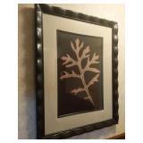 Framed Leaf Print