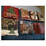 Christmas Accent Pillows and Throws