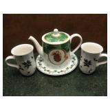 Wedgewood Tea Pot & Mikasa China