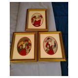 Original Santa Paintings