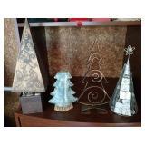Tabletop Christmas Trees