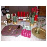 Christmas Candles, Candle Holders & More