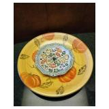 Decorative Fall Plates and hors d
