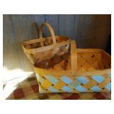 Pair of Wooden Baskets