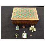 Irish Themed Jewelry and Jewelry Box