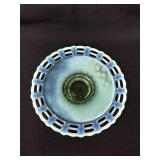 Fenton Vaseline Opalescent Plate