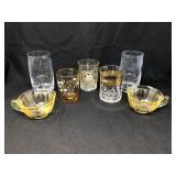 Assorted Antique Glassware