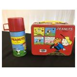 Vintage 1965 Charlie Brown lunch box by Thermos