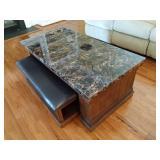 Ashley Furniture Coffee Table & Ottoman