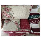 Queen Reversible Bedding