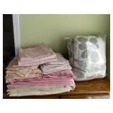 Pink & Biege Queen Size Bedding