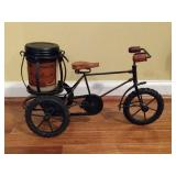 Decorative Metal Bicycle Candle Holder