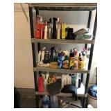 Storage Shelf and Contents