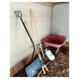 Wheelbarrow & Yard Tools