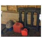 ShopVac, Set of Saw Horses & Gas Cans