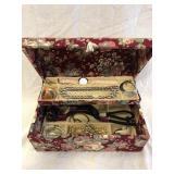 Jewelry Box With Assorted Jewlery