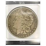 1898 S Morgan Silver Dollar