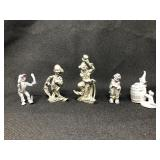 Pewter Clowns