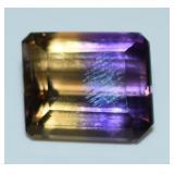 ametrine octagonal 17.62ct