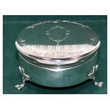 LARGE STERLING RING BOX