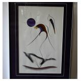 ERNIE SCOLES, SIGNED NUMBERED PRINT 525/695