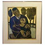 DOMINIQUE CARPENTIER, SIGNED/NUMBERED LITHOGRAPH