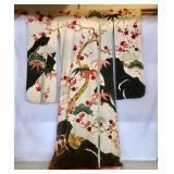 JAPANESE WEDDING KIMONO - ORNATE EMBROIDERED