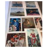 UNFRAMED PRINTS BY VARIOUS ARTISTS -DEGAS