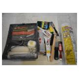 ROLL OF PLASTIC SHEETING, 5-PIECE INTERIOR