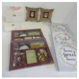 STORAGE BOXES, PHOTO FRAMES, WALL HANGINGS
