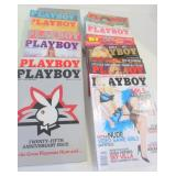 PLAYBOY MAGAZINE - 1979 WITH 25TH ANNIVERSARY