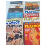 PLAYBOY MAGAZINE - 1970 AND1991