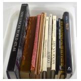 WORLD ATLAS & 9 HARDCOVER BOOKS&2 PAPERBACKS
