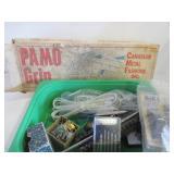 PAMO GRIP, BICYCLE MIRROR, LOCKS, SMALL SCREW