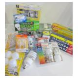 LIGHT BULBS - ASSORTED SIZES - FOIL AND PLASTIC