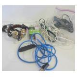 EXTENSION CORDS, POWER BAR, TEAC HEADPHONES