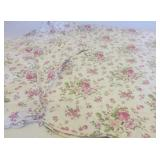 QUILT BEDSPREAD WITH PILLOW SHAMS, CUSHION COVER