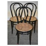 THONET BENTWOOD CHAIRS (3)
