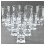 TALL GLASSES (4), SHORT GLASSES (6)