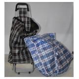 SOFT SIDE SHOP CART & LARGE REUSABLE BAG