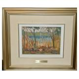 OIL ON BOARD BY SIDNEY CHARLES MOONEY SIGNED LOWER