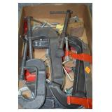 CLAMPS VARITY OF SIZES SMALL TO LARGE