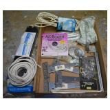 HOUSEHOLD ITEMS, BALLAST, HINGES, WIRE, CABLE