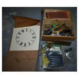 CLOCK REPAIR TOOLS ETC