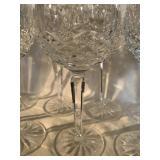 WATERFORD CRYSTAL WINE GLASSES (6)