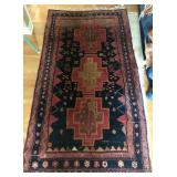 RUG MADE IN IRAN, 90.5