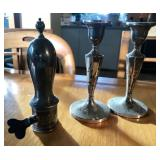 FISHER STERLING WEIGHTED CANDLE STICK (2)