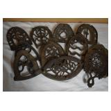 ADVERTISING CAST IRON TRIVETS