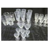 H2K Set of 6 Clear Glass Ashtray